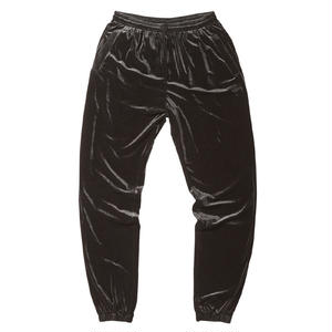 BORN X RAISED / VELOUR PANTS (BLACK)