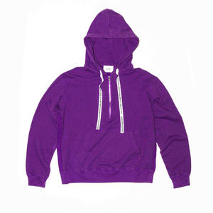 Side Reversed Hooded Half Zip Sweat.