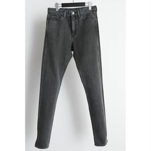 5 Pocket Denim Pants. -Faded-