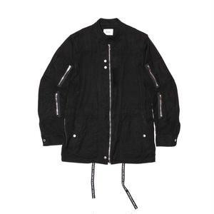 MIlitary Zip Jacket. -Pin OX-