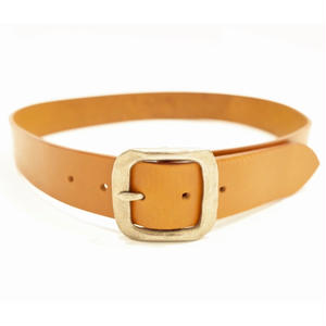 38mm Hammered Buckle Belt.