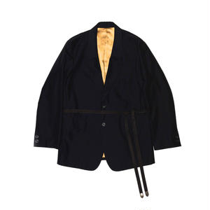 Single Breasted Strap Jacket. -OX-