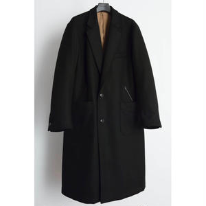 Western Chesterfield Coat. -Melton Wool-
