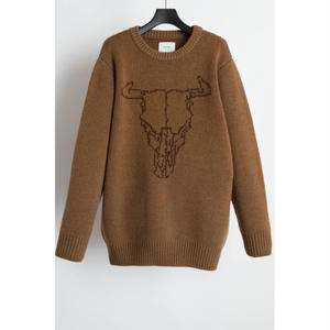 5G Crew Neck Buffalo Knit.