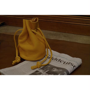 MY THINKS / MY ELK BUCKET BAG -Small-