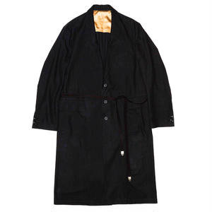 Chesterfield Strap Coat. -Flannel-