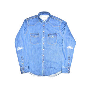 Western Crash Denim Shirt.