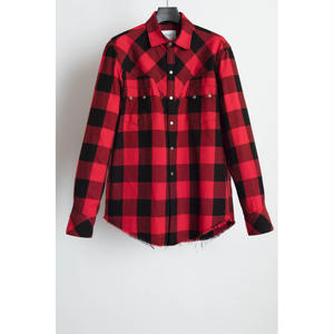Western Harry Shirt. -Buffalo Check Flannel-