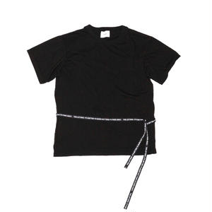 Crew Neck Strap T-shirt.