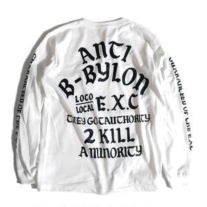 """ANTI"" (WHITE) #EXC-6LS01"