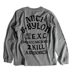 """""""ANTI"""" (GRAY) #EXC-6LS01"""