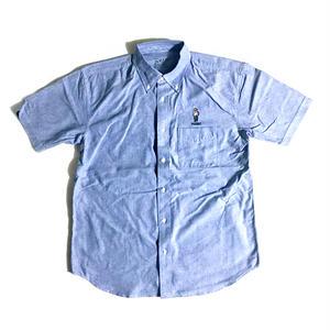 """""""HOMEBOY"""" (BDシャツ/ブルー) #EXC-7SH02"""