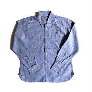 """HOMEBOY"" (BD-OXシャツ/ブルー) #EXC-7SH03"