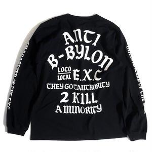 """""""ANTI"""" (BLACK) #EXC-6LS01"""
