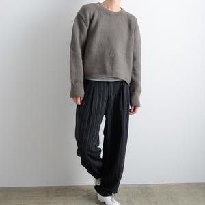 ALLEGE FEMME / Roving knit