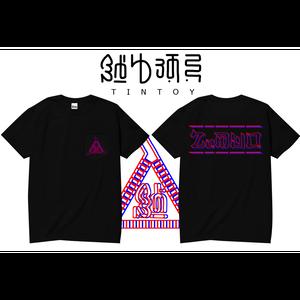S/S ポケット TEE 「3D」-BLACK
