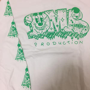 DMB PRODUCTION xPEZ /LONG SLEEVES/WHT/GREEN