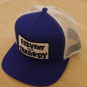 THRASHER MESH CAP/BLUE