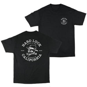 HARD LUCK WATOSONVILLE TEE/BLK/SIZE M