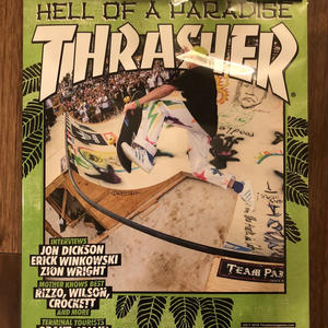THRASHER MAGAZINE 7月号