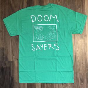 "DOOM SAYERS ""SNEAK  SHAKE"" GREEN Size M"