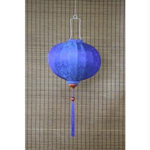 ベトナムランタン 丸形 Lサイズ 青