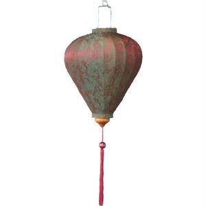 ベトナムランタン ほおずき形 Lサイズ 赤緑