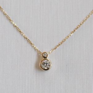sowi:ソーイ 《K10YG ダイヤモンド ネックレス》309N0073-TY1
