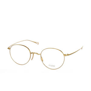 ayame i wear design:アヤメ《MANRAY col.Gold》眼鏡フレーム