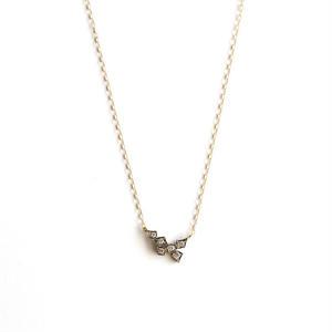 GICLAT:ギクラ 《G03N1K  K18YG /K18WG ネックレス》ダイヤモンドネックレス