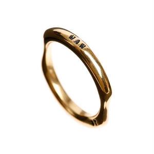 【再入荷】SERGE THORAVAL:セルジュトラヴァル《Man Woman Ring - GOLD R44》 リング ペア 男と女 ゴールド