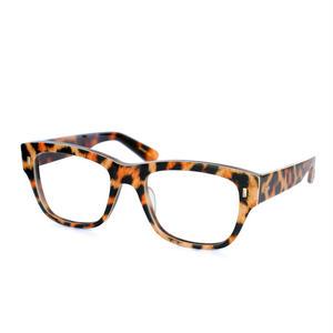 Mr.Gentleman Eyewear:ミスタージェントルマン・アイウェア 《COSTELLO -コステロ Col.Matte Brown Leopard》 眼鏡 ウエリントン
