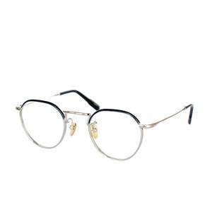 【再入荷】OG × OLIVER GOLDSMITH:オージーバイオリバーゴールドスミス《Editor -エディター col.014-2》 眼鏡 クラウンパント