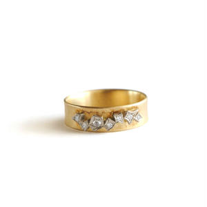 GICLAT:ギクラ 《G03R6K K18YG /K18WG リング》ダイヤモンドリング