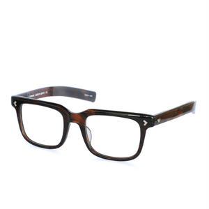 Mr.Gentleman Eyewear:ミスタージェントルマン・アイウェア 《COBAIN -コバーン Col.Brown Marble》 カート・コバーン復刻アイウェア 眼鏡 ウエリントン
