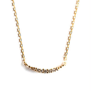 sowi:ソーイ 《マイクロセッティング K18YG ネックレス 》ダイヤモンド/ネックレス