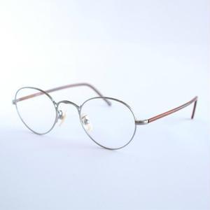 ayame:アヤメ 《OLDSTAR - オールドスター col.Titanium》 眼鏡 ラウンド×ボストン