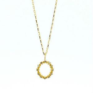sowi:ソーイ 《K18 スターダストダイヤモンドネックレス》