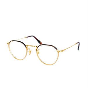 【再入荷】OG × OLIVER GOLDSMITH:オージーバイオリバーゴールドスミス《Editor -エディター col.015-2》 眼鏡 クラウンパント