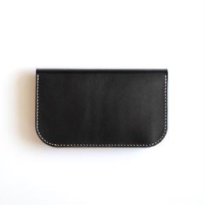 RHYTHMOS:リュトモス《Flap L-フラップ L Col.Black》 折りたたみ長財布