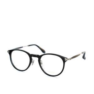 ayame:アヤメ 《KLAMP-クランプ Col. BK》眼鏡 ボストンコンビネーション