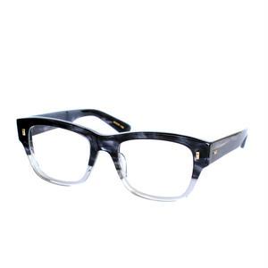 Mr.Gentleman Eyewear:ミスタージェントルマン・アイウェア 《COSTELLO -コステロ Col.Black Swirl to Grey》眼鏡