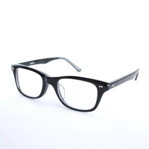 ayame:アヤメ 《MATCH - マッチ col.Black》 眼鏡 ウエリントン