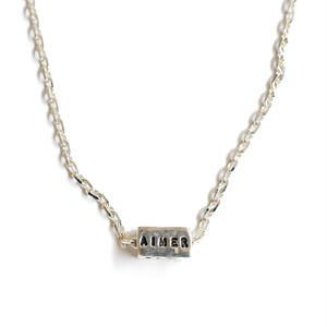 SERGE THORAVAL:セルジュトラヴァル《 AIMER REVER RIRE Necklace:N3 618》 ネックレス シルバー ゴールド
