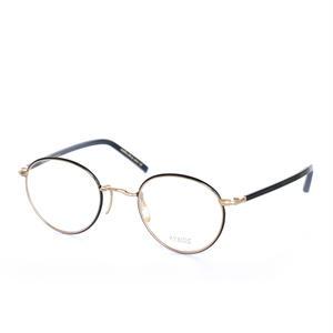 ayame:アヤメ 《SIPPOU -シッポウ Col.BLK》眼鏡 フレーム