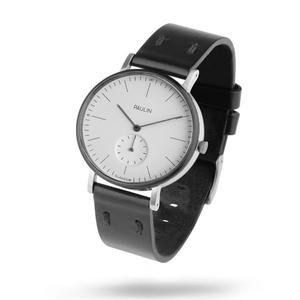 PAULIN:ポーリン《TO100A-BL-B ホワイト/ブラック》腕時計 英国製ウォッチ