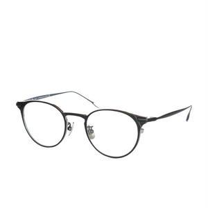 USH:アッシュ《UF0-061 Daniel col.03 black/silver》眼鏡フレーム
