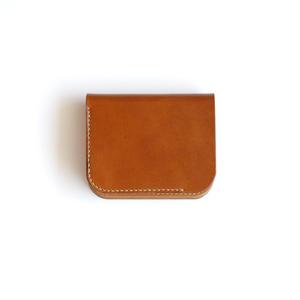 RHYTHMOS:リュトモス《Flap S-フラップ S Col.Brown》 折りたたみ財布
