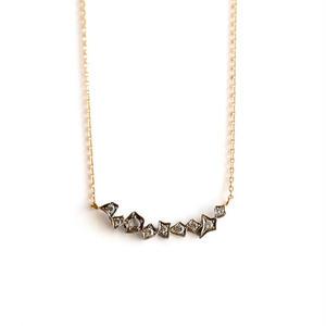 GICLAT:ギクラ 《G02N9K  K18YG /K18WG ネックレス》ダイヤモンドネックレス