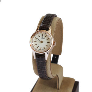 fleur:フル―ル 《F002 - PINK GOLD/WINE》腕時計 リザードベルト